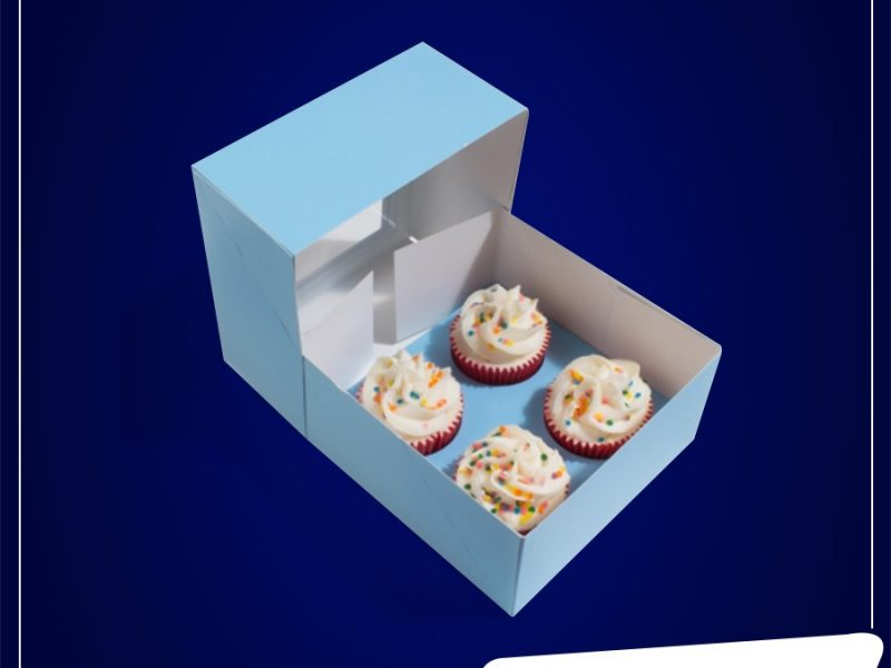 customized cupcake box